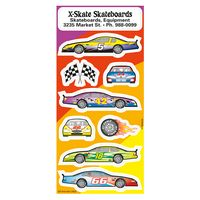 371969530-183 - Race Car Fun & Fantasy Sticker Sheet - thumbnail