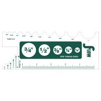 """385684089-183 - Custom 0.015"""" Thick Recycled Die Cut Plastic (42 to 56 Sq. Inch) - thumbnail"""