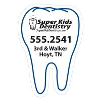 "39559882-183 - Tooth 0.02"" Thick Vinyl Die Cut Small Stock Magnet - thumbnail"