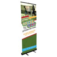 504033890-183 - Medium Retractable Stand w/ Banner - thumbnail
