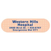 "52559912-183 - Bandage 0.02"" Thick Vinyl Die Cut Small Stock Magnet (1""x3 1/2"") - thumbnail"