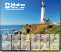 553729911-183 - Ultra Thin Calendar Mouse Pads w/ Stock Background - Lighthouse - thumbnail