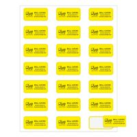 """573439787-183 - Rectangle Quick & Colorful Sheeted Label (1""""x2"""") - thumbnail"""