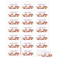 """705529289-183 - Rectangle Sheeted Button Sticker Labels (1""""x2"""") - thumbnail"""