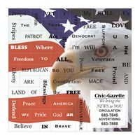 774034774-183 - Land Of The Free Message Magnets - thumbnail