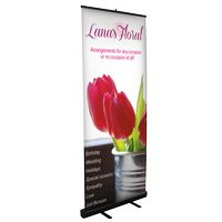 904033891-183 - Large Retractable Stand w/ Banner - thumbnail