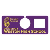 "905048443-183 - Plastic 23 pt. Hanging Parking Permit (3""x4 3/4"") - thumbnail"