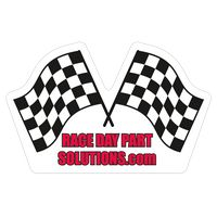 "933144787-183 - Racing Flags 0.03"" Thick Vinyl Die Cut Large Stock Magnet - thumbnail"