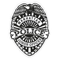 935880652-183 - Police Badge Paper Lapel Sticker On Roll - thumbnail