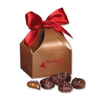 126076506-117 - Sea Salt Almond Turtles in Copper Classic Treats Gift Box - thumbnail