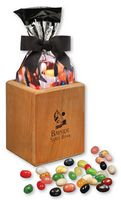 31960231-117 - Hardwood Pen & Pencil Cup with Gourmet Jelly Beans - thumbnail