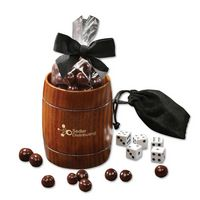 336040839-117 - Classic Wooden Barrel Cup with Barrel-Aged Bourbon Cordials - thumbnail