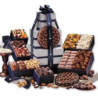 576464038-117 - Silver & Navy Executive Gourmet Tower - thumbnail