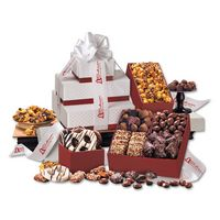 795703855-117 - Red & White Pillow Top Tower of Sweets - thumbnail