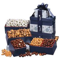 915703799-117 - Multi-Color Snowflake Tower of Treats - thumbnail