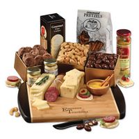 955703670-117 - Java Bamboo Board with Shelf-Stable Gourmet Selections - thumbnail