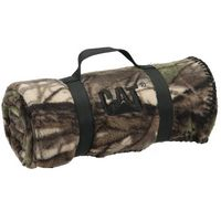 703460886-814 - Camo Nature Blanket w/ Nylon Strap - thumbnail