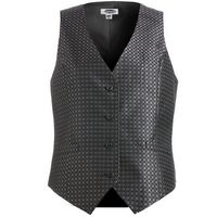 194203406-822 - Edwards Ladies' Grid Brocade Vest - thumbnail