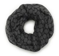 565617514-822 - Edwards Redwood & Ross™ Ladies' Tone-On-Tone Circles Infinity Scarf - thumbnail