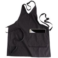 751216695-822 - Edwards Two Pocket V-Neck Bib Apron - thumbnail
