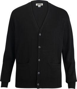 786499657-822 - Jersey Knit Acrylic Cardigan with Pockets - thumbnail