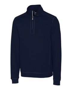 345260789-106 - Men's Cutter & Buck® Bayview Half-Zip Shirt (Big & Tall) - thumbnail