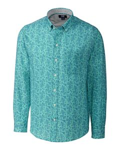 346361169-106 - L/S Jameson Seersucker Print Big & Tall - thumbnail