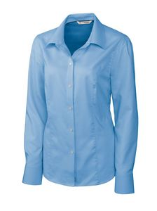 363638006-106 - Ladies' Cutter & Buck® Epic Easy Care Nailshead Dress Shirt - thumbnail