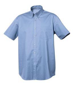 523186599-106 - Men's Clique® Short Sleeve Carter Stain Resistant Twill Shirt - thumbnail