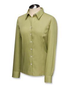 532704028-106 - Ladies' Cutter & Buck® Epic Easy Care Fine Fine Twill Dress Shirt - thumbnail