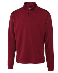 534493869-106 - Men's Cutter & Buck® Edge Half-Zip Shirt (Big & Tall) - thumbnail