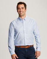 565706619-106 - Cutter & Buck Stretch Oxford Stripe Big & Tall - thumbnail