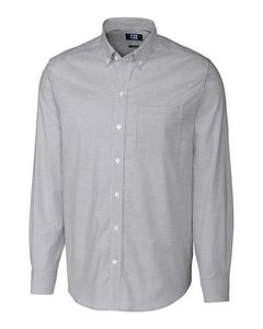 596288650-106 - Stretch Oxford Stripe Shirt Big & Tall - thumbnail