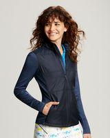 725705845-106 - Cutter & Buck DryTec Ladies Stealth Full Zip Jacket - thumbnail