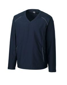 734494154-106 - Men's Cutter & Buck® WeatherTec™ Beacon V-Neck Jacket (Big & Tall) - thumbnail