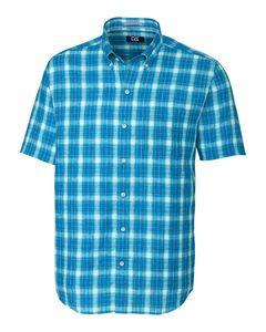 736361294-106 - S/S Agua Plaid Big & Tall - thumbnail