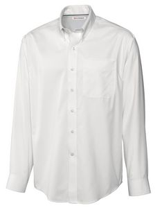 904494147-106 - Men's Cutter & Buck® Epic Easy Care Fine Twill Dress Shirt (Big & Tall) - thumbnail