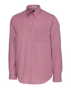 916361252-106 - L/S Wrinkle Free Cimarron Check Big & Tall - thumbnail