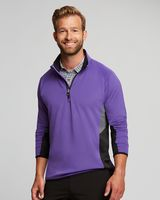 955904947-106 - Cutter & Buck DryTec Traverse ColorBlock Half Zip - thumbnail