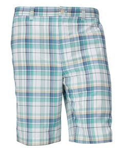 956131656-106 - Hales Plaid Flat Front Short - thumbnail