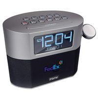 766227055-142 - iHome Bluetooth FM Clock Radio With Apple Watch Charging, Speakerphone & USB Charging - thumbnail