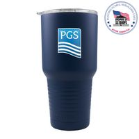 775953791-142 - Patriot 30oz Navy Blue Tumbler - thumbnail