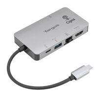 946247719-142 - Targus DP Alt Mode USB-C Single Video 4K HDMI/VGA Docking Station With 100W PD Pass-Thru - thumbnail