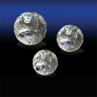 953686555-142 - Cut Edged Sphere Paperweight (Medium) - thumbnail