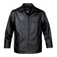 972429889-109 - Men's Classic Leather Jacket - thumbnail