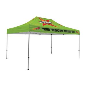 105009831-108 - Premium Aluminum 15' Tent Kit (Full-Bleed Dye Sublimation) - thumbnail