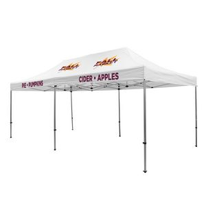 105009836-108 - Premium Aluminum 20' Tent Kit (Imprinted, 4 Locations) - thumbnail