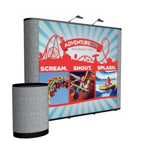 115438477-108 - 10' Straight Show 'N Rise Floor Kit (Mural w/ Fabric Ends) - thumbnail