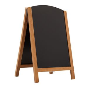 "125916018-108 - 34"" Quick Change Wood A-Frame Chalkboard Hardware - thumbnail"