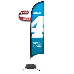 133728287-108 - 13' Premium Razor Sail Sign, 2-Sided, Scissor Base - thumbnail